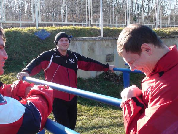 Fedor Emelianenko si allena...(foto) 7