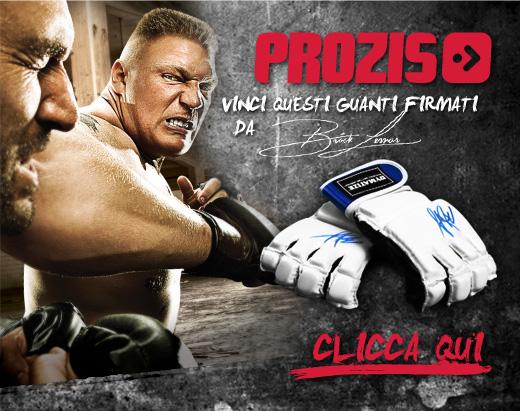 Prozis & Grappling-Italia vi regalano i Guantini da MMA firmati da Brock Lesnar ! 1
