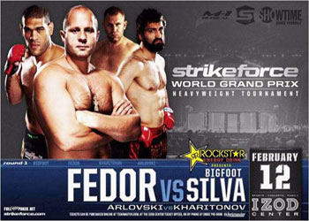 Strikeforce GP: Fedor Emelianenko Vs BigFoot Silva - Risultati LIVE 1