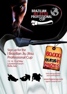 Brazilian jiu-Jitsu Professional Cup - partecipanti 1