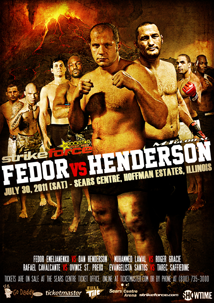 Strikeforce: Fedor vs. Henderson  (30 Luglio 2011) 1