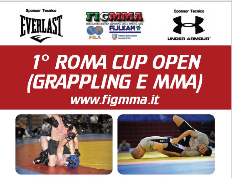ROMA CUP OPEN (GRAPPLING E MMA) - 5 Giugno 2011 - Festival del Fitness 1