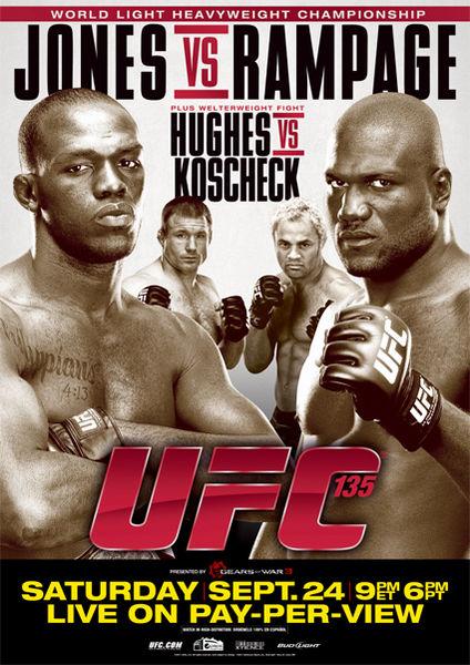 UFC 135: Jones vs. Rampage 1