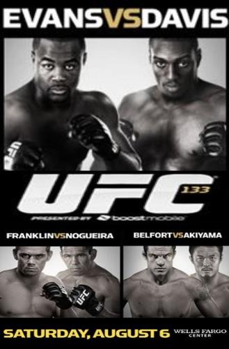 Comunicato stampa UFC 133: Rashad Evans vs. Phil Davis 1