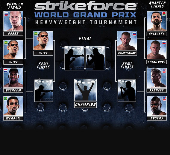 Strikeforce: Overeem vs Werdum - la pesa & pronostici 1