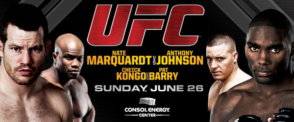 26 giugno - UFC on Versus 4: Marquardt vs. Story 1
