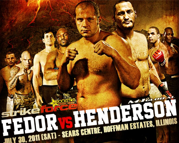 Risultati Fedor vs Henderson (Strikeforce) 1