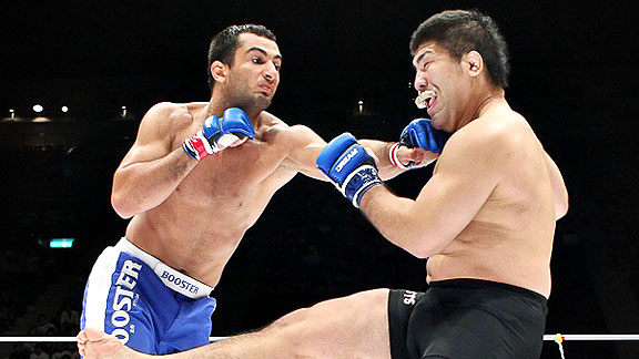 Dream GP finale: Mousasi vs Izumi in una foto 1