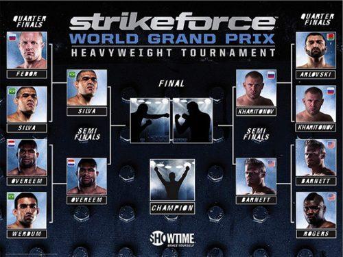 Overeem fuori dal del HW Gp della Strikeforce ! 1