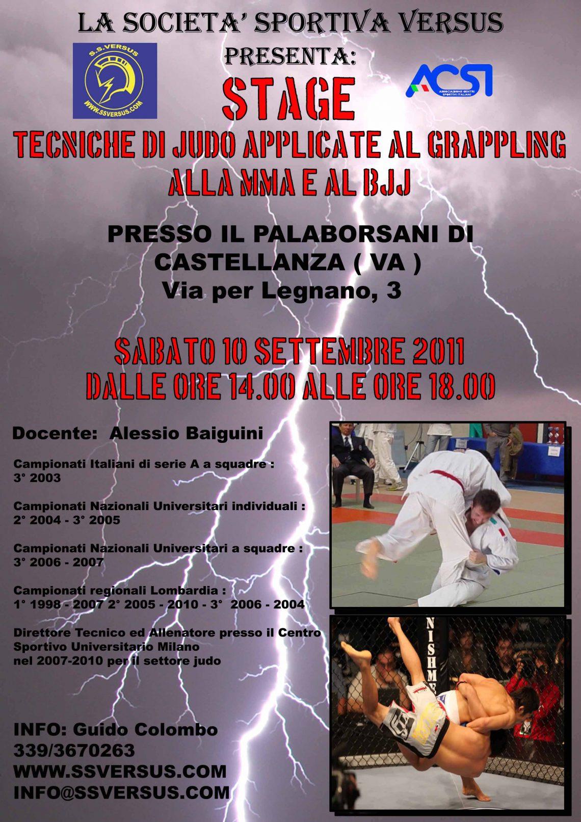 Seminario: Judo per le MMA 1