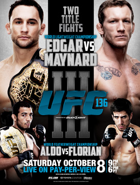UFC 136 - Edgar vs. Maynard 3 promo video 1