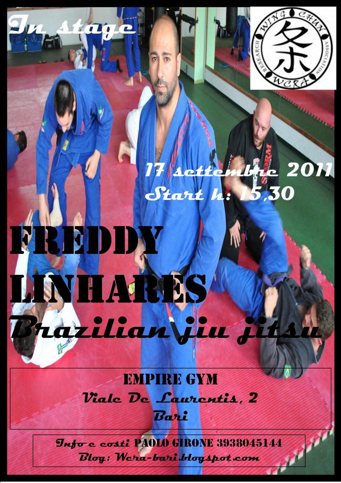Seminario Freddy Linhares a Bari 1