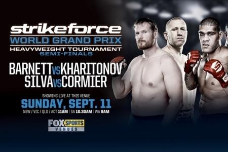 Strikeforce GP Semifinali: Barnett vs. Kharitonov - risultati live 1