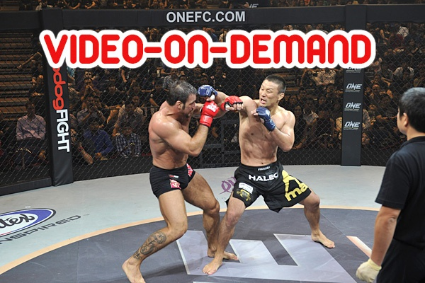 OneFc highlight ... by Phil Baroni 1