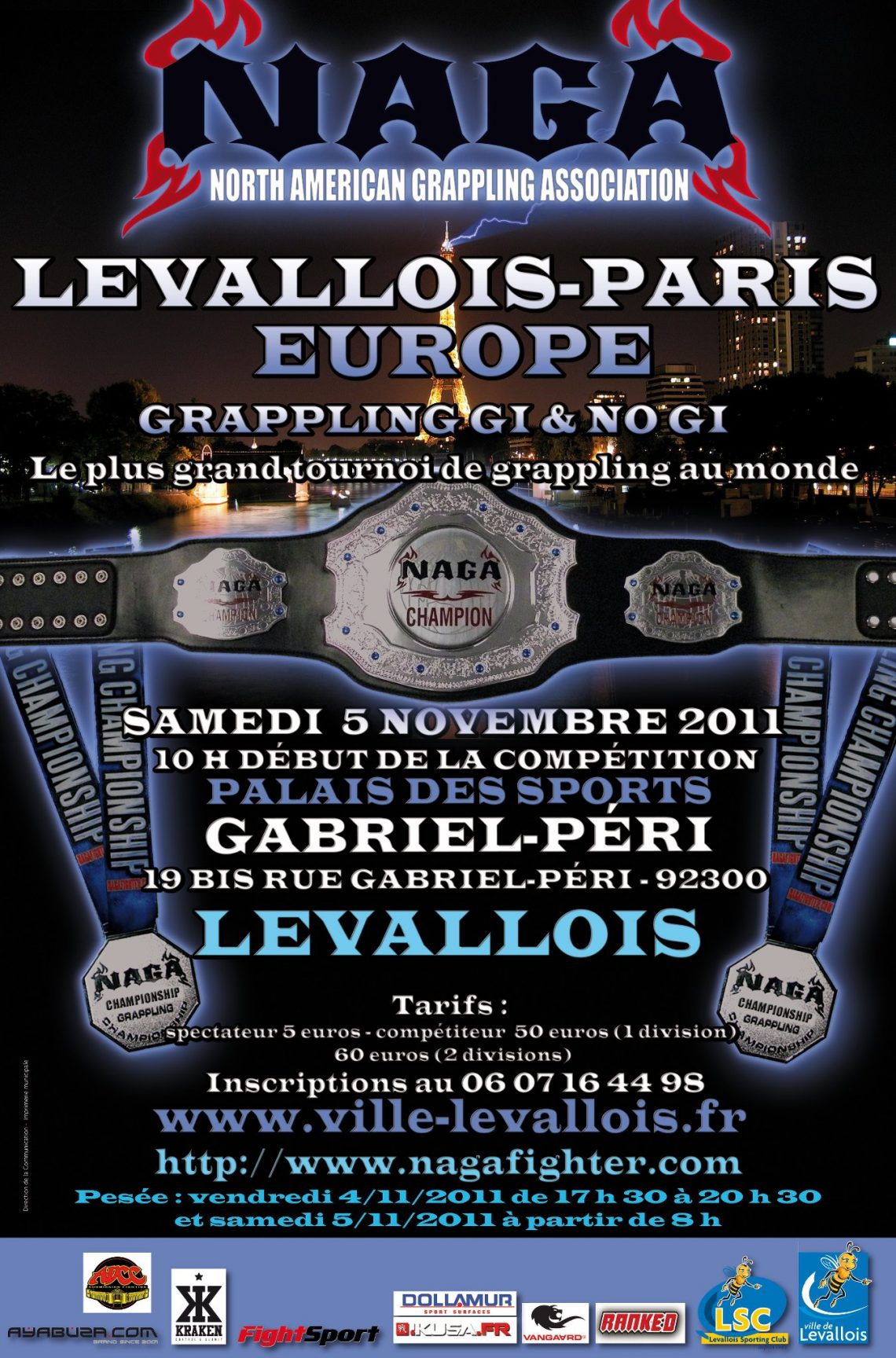 NAGA Europe a Parigi 1