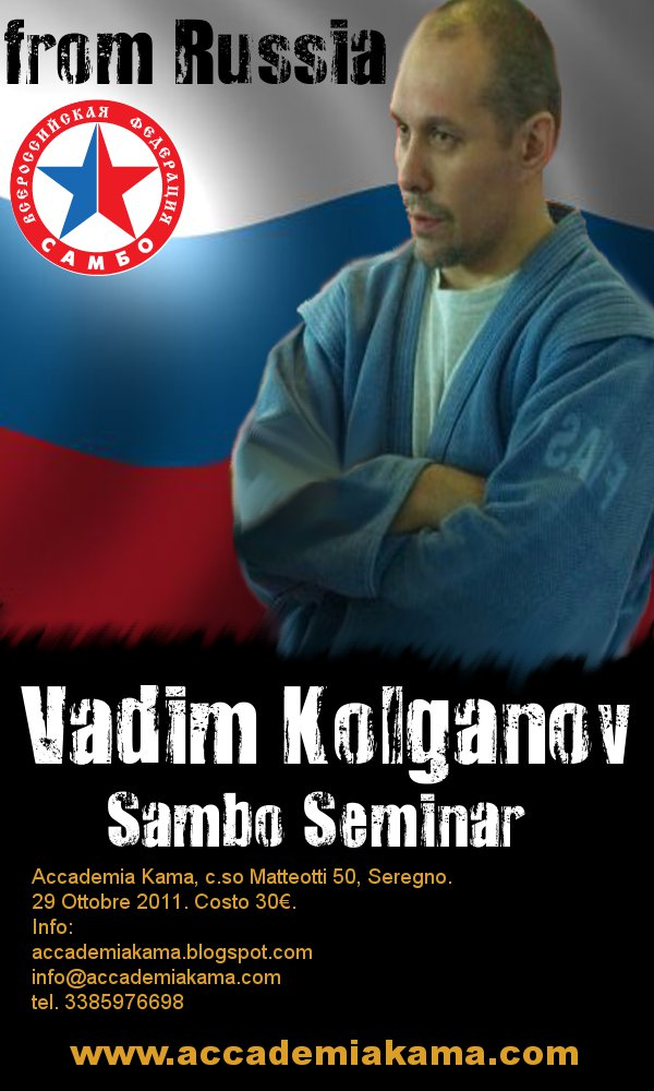 Vadim Kolganov (Stage di sambo applicato al BJJ & Grappling) 1