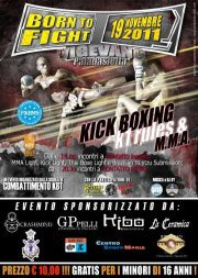 Born To Fight IV - vigevano 1