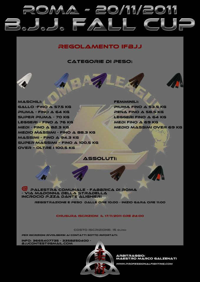 BJJ Fall Cup (Roma 20/11/2011) 1