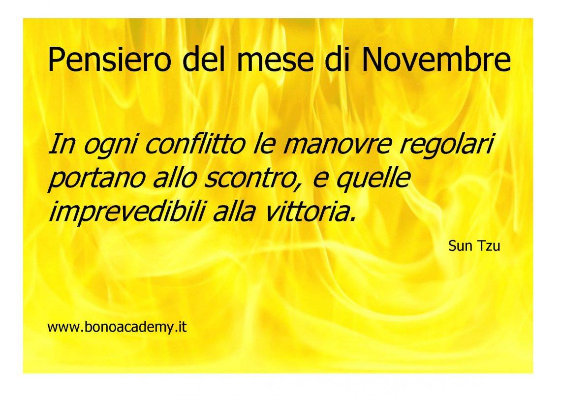 Pensiero del mese di Novembre (Sun Tzu) 1