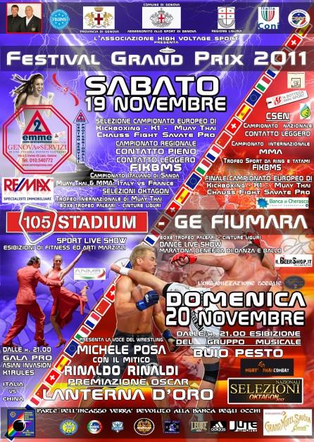 Festival GranPrix: MMA & Grappling -19/20 Novembre 1