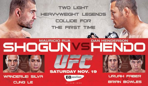 UFC 139: Shogun vs Henderson 1