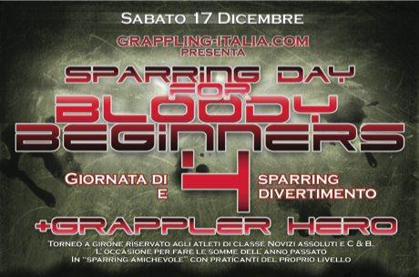Grappling-Italia.com presenta: <br> <b>Sparring Day</b> 4 a Milano il 17 Dicembre 1