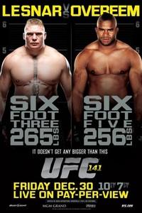 Alistair Overeem OK per UFC 141 con dei