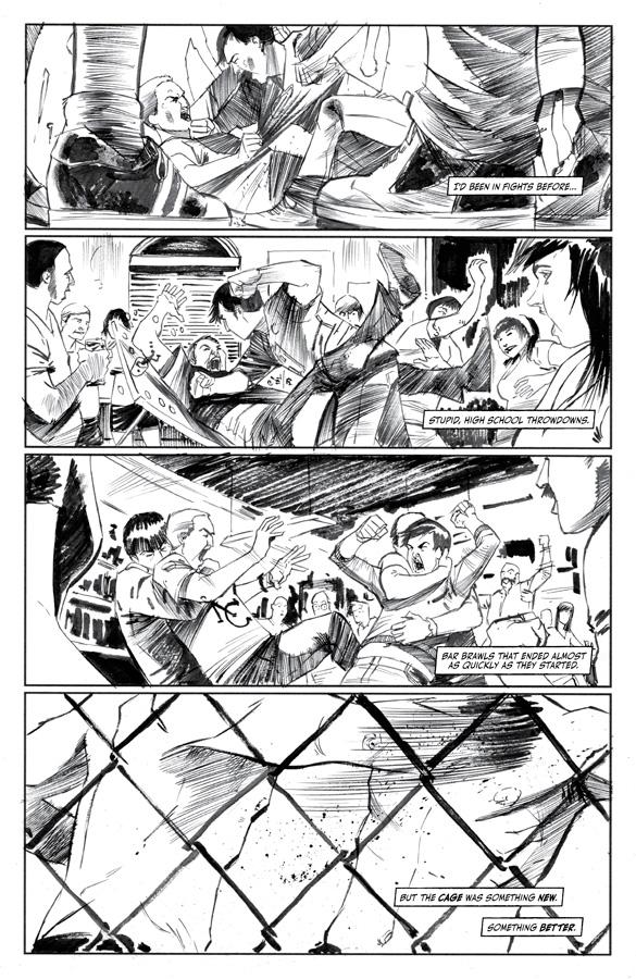 Heart: Fumetto sulle MMA 12