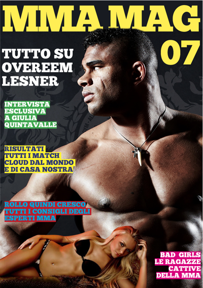 Mma mag rivista di UFC, mma, K-1, bjj & Grappling