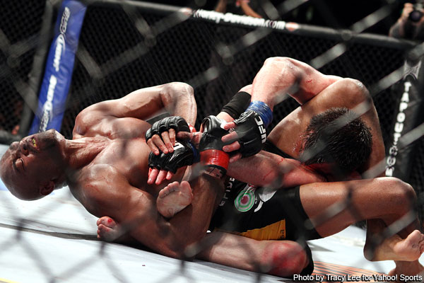 UFC 148 : Anderson Silva è davvero arrabbiato 1