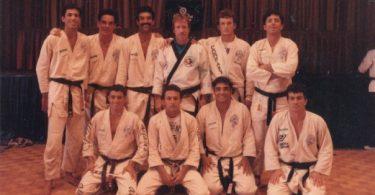 1988: Chuck Norris sullo stesso ring con 9 Gracie !!!! 4