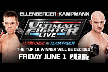 TUF Live Finale: Ellenberger vs Kampmann - Risultati & Video 1