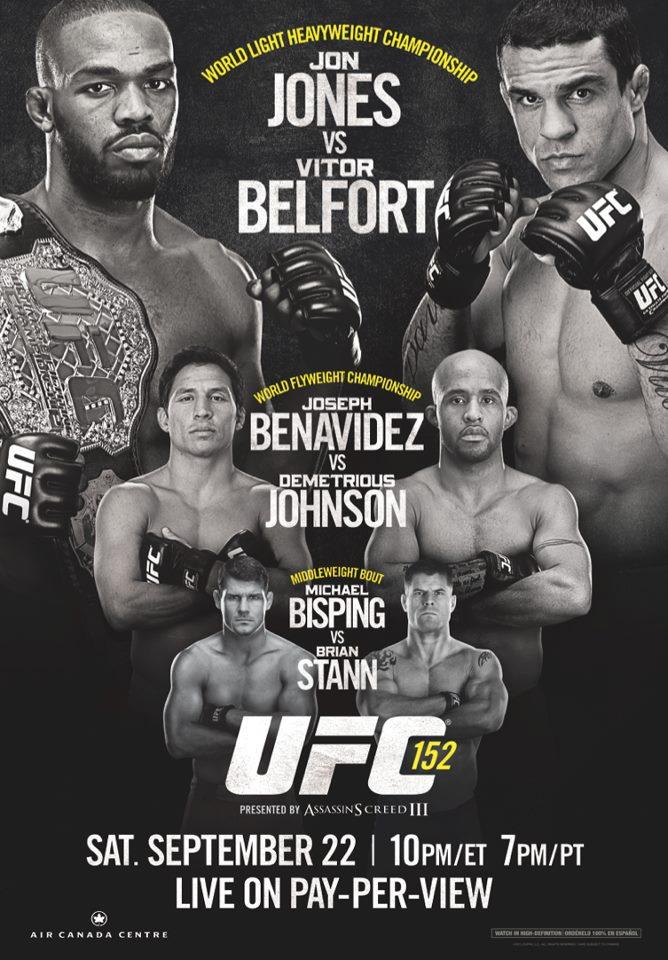 UFC 152: Jones vs Belfort - risultati 1