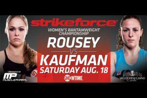 Strikeforce: Rousey vs Kaufmann risultati 2