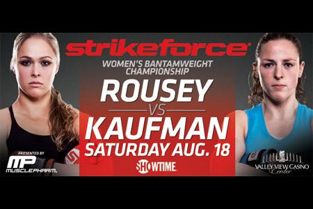 Strikeforce: Rousey vs Kaufmann risultati 1