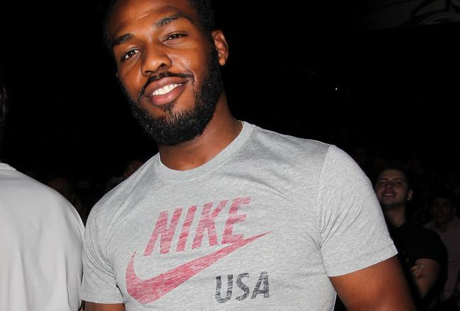 Jon Jones sponsorizzato dalla Nike 1