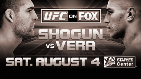 UFC on Fox 4: Shogun vs Vera - risultati 1