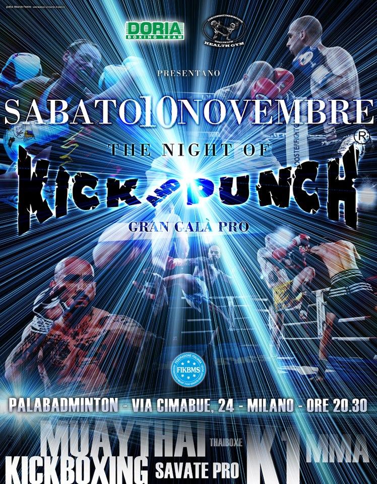 10 Novembre a Milano - The night of Kick and Punch 2 1