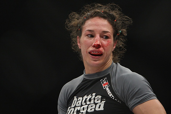 Sara McMann in Strikeforce