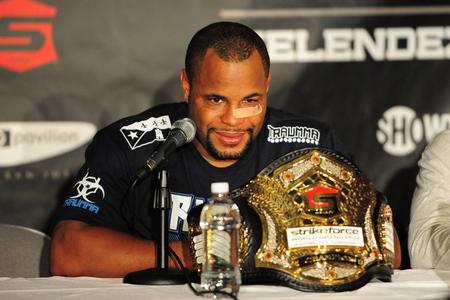 Daniel Cormier - campione strikeforce