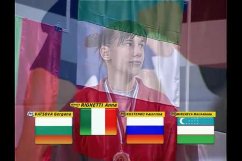 Intervista a Anna Righetti, campionessa del mondo di sambo 5