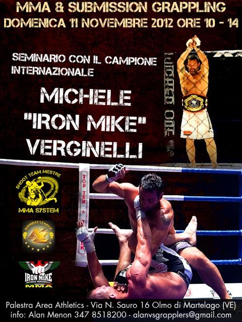 Seminario con Michele Verginelli a Venezia