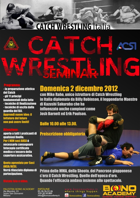 Catch Wrestling con Mike Raho