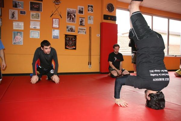 Report seminario catch wrestling con Mike Raho 6