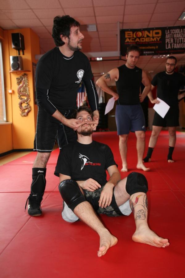 Report seminario catch wrestling con Mike Raho 5