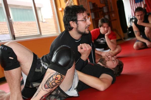 Report seminario catch wrestling con Mike Raho 4