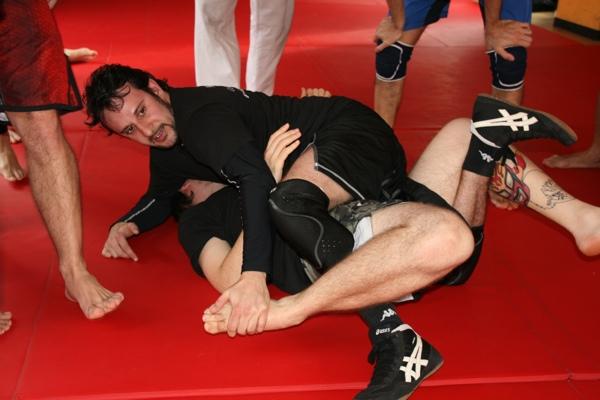 Report seminario catch wrestling con Mike Raho 3