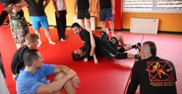 Report seminario catch wrestling con Mike Raho 8