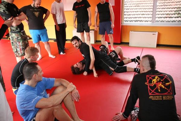 Report seminario catch wrestling con Mike Raho 2