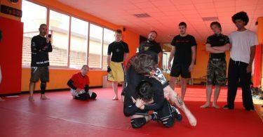 Report seminario catch wrestling con Mike Raho 7